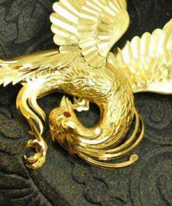 تابلو ورق طلا سیمرغ